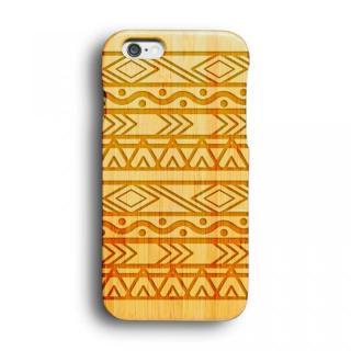 kibaco 天然竹ケース アフリカン iPhone 6ケース