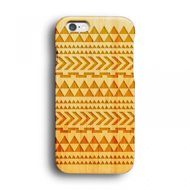 iPhone6 ケース kibaco 天然竹ケース トライアングル iPhone 6ケース_0
