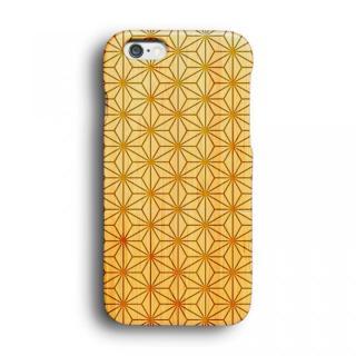 kibaco 天然竹ケース 麻の葉 iPhone 6ケース