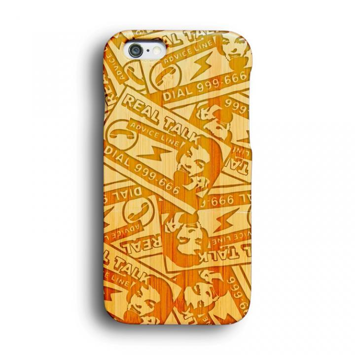 iPhone6 ケース kibaco 天然竹ケース でんわこうこく Designed by MA1LL iPhone 6ケース_0