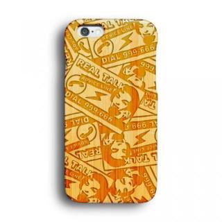 【iPhone6ケース】kibaco 天然竹ケース でんわこうこく Designed by MA1LL iPhone 6ケース