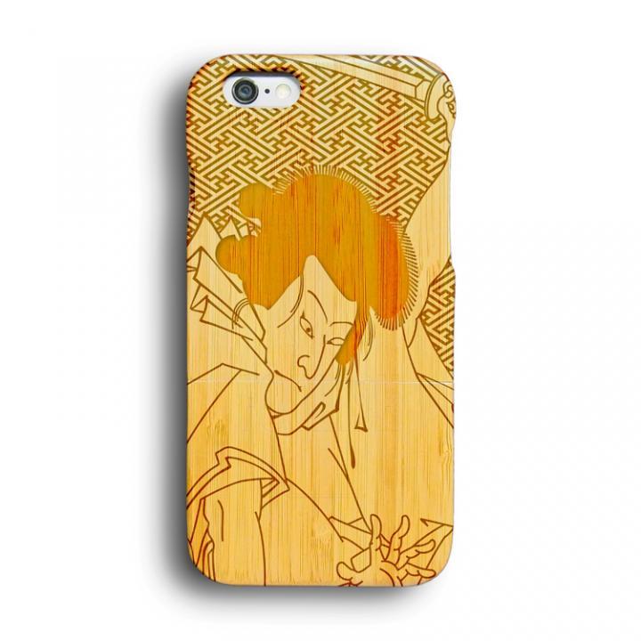 iPhone6 ケース kibaco 天然竹ケース 歌舞伎 iPhone 6ケース_0