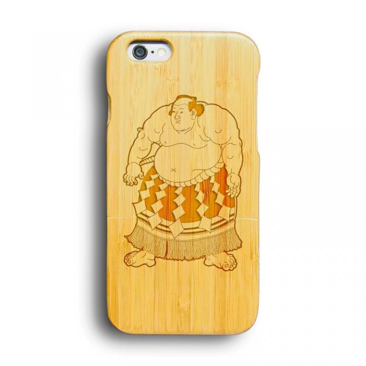 iPhone6 ケース kibaco 天然竹ケース 力士 iPhone 6ケース_0