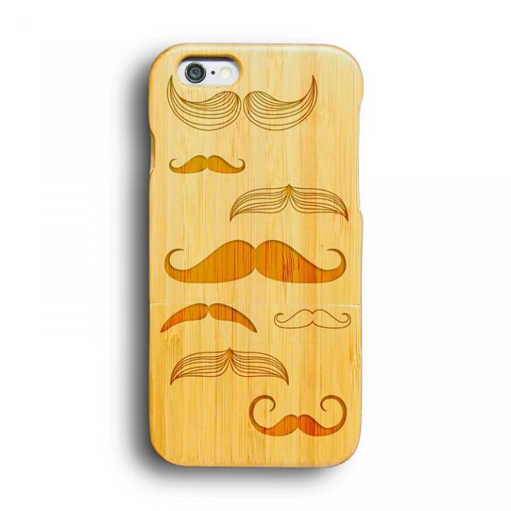 iPhone6 ケース kibaco 天然竹ケース マスタッシュスタイルズ iPhone 6ケース_0