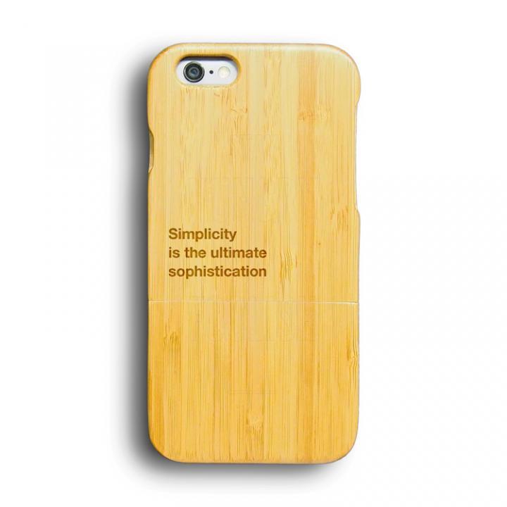 【iPhone6ケース】kibaco 天然竹ケース シンプル iPhone 6ケース_0
