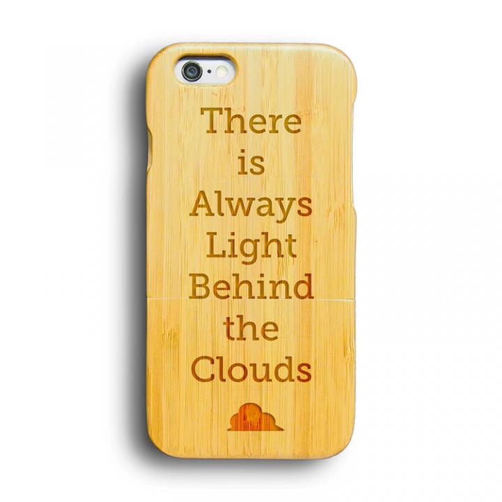 【iPhone6ケース】kibaco 天然竹ケース BEHIND THE CLOUDS iPhone 6ケース_0