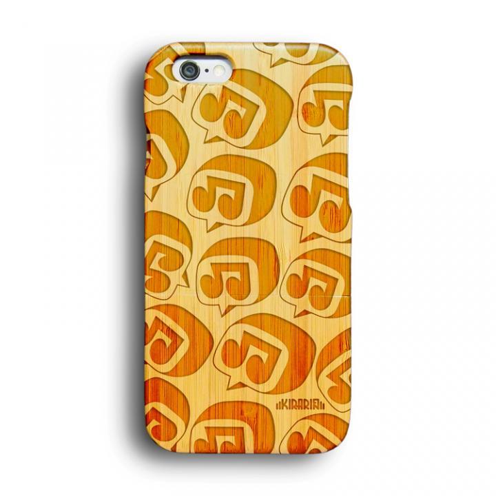 iPhone6 ケース kibaco 天然竹ケース MUSIC  LIFE Designed by KIRARIN iPhone 6ケース_0