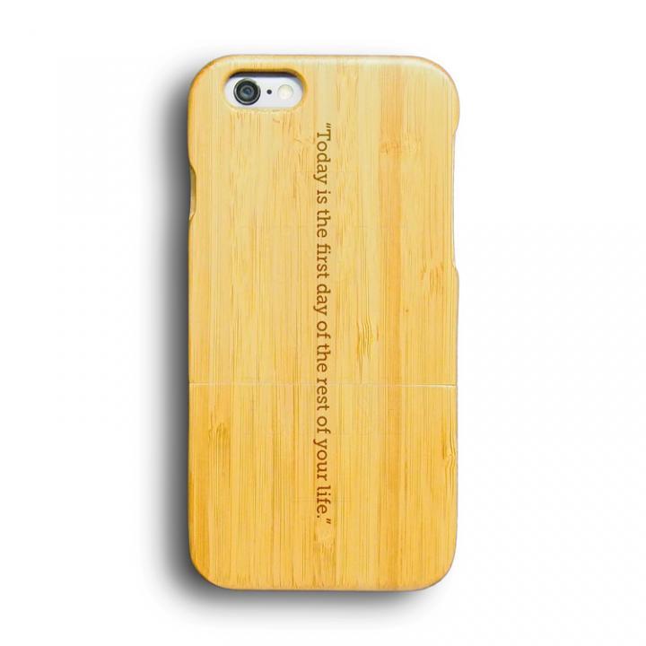 【iPhone6ケース】kibaco 天然竹ケース FIRST DAY iPhone 6ケース_0