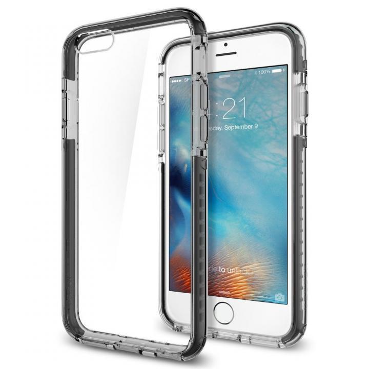 【iPhone6sケース】Spigen ウルトラ・ハイブリッド テック クリスタルブラック iPhone 6s_0