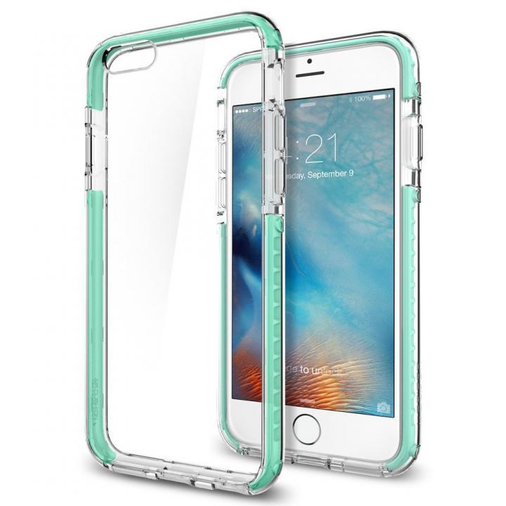 【iPhone6sケース】Spigen ウルトラ・ハイブリッド テック クリスタルミント iPhone 6s_0