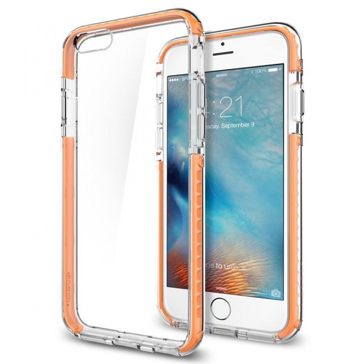 Spigen ウルトラ・ハイブリッド テック クリスタルオレンジ iPhone 6s