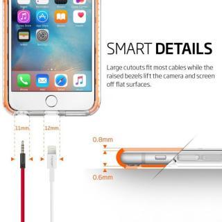 【iPhone6s Plusケース】Spigen ウルトラ・ハイブリッド テック クリスタルオレンジ iPhone 6s Plus_6