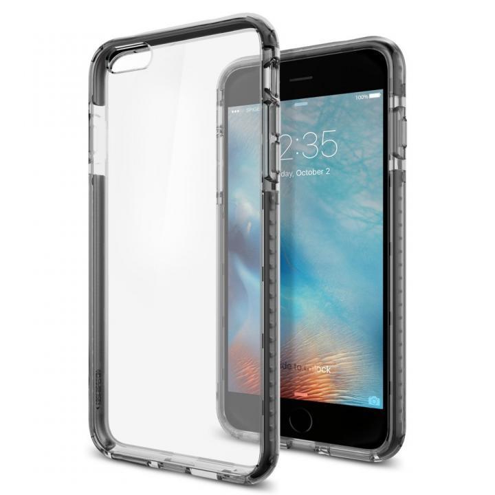 【iPhone6s Plusケース】Spigen ウルトラ・ハイブリッド テック クリスタルブラック iPhone 6s Plus_0
