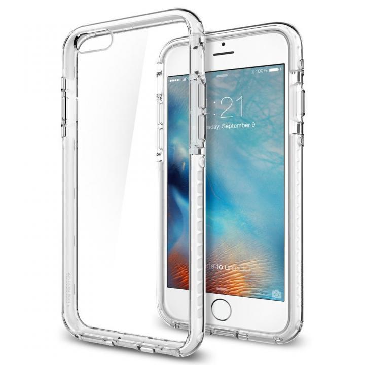 【iPhone6sケース】Spigen ウルトラ・ハイブリッド テック クリスタルホワイト iPhone 6s_0