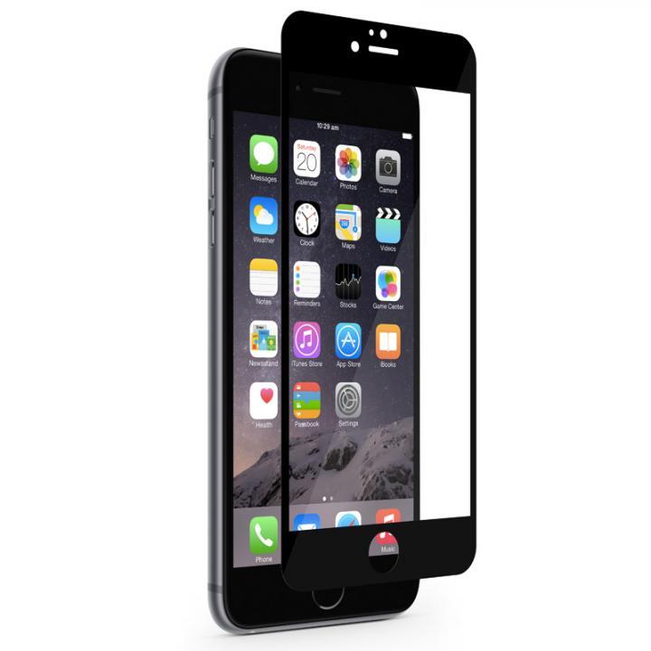 液晶保護フィルム moshi iVisor XT ブラック iPhone 6s Plus/6 Plus