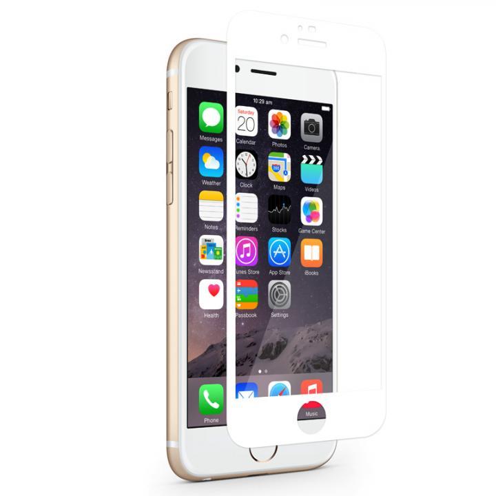 iPhone6s/6 フィルム 液晶保護フィルム moshi iVisor XT ホワイト iPhone 6s/6_0