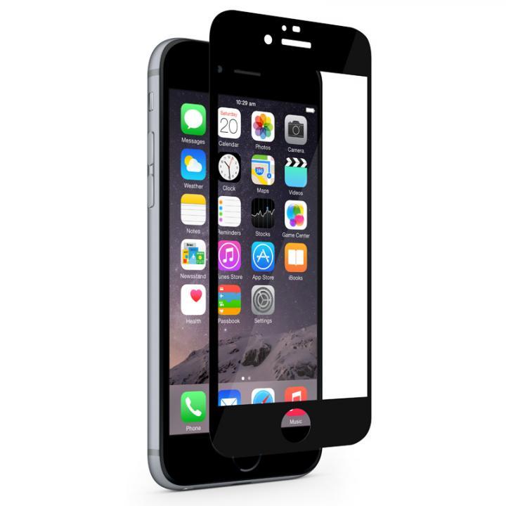 iPhone6s/6 フィルム 液晶保護フィルム moshi iVisor XT ブラック iPhone 6s/6_0
