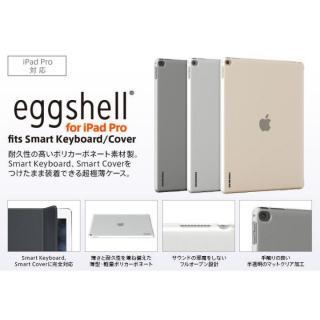 極薄ハードケース TUNEWEAR eggshell マットクリア 12.9インチiPad Pro_7