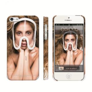 iPhone SE/5s/5 ケース Lady GaGa Mask iPhone SE/5s/5 Case