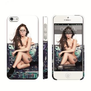 iPhone SE/5s/5 ケース Lady GaGa Chair iPhone SE/5s/5 Case