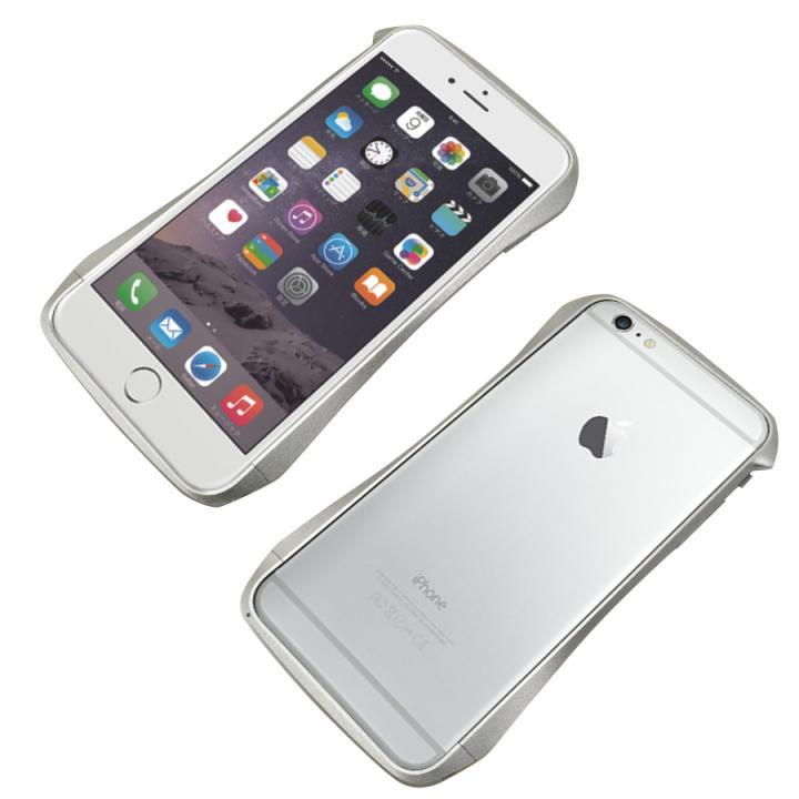 【iPhone6s Plus/6 Plusケース】CLEAVE アルミニウムバンパー シルバー iPhone 6s Plus/6 Plus_0