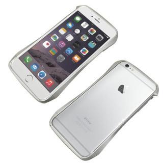 iPhone6s Plus/6 Plus ケース CLEAVE アルミニウムバンパー シルバー iPhone 6s Plus/6 Plus