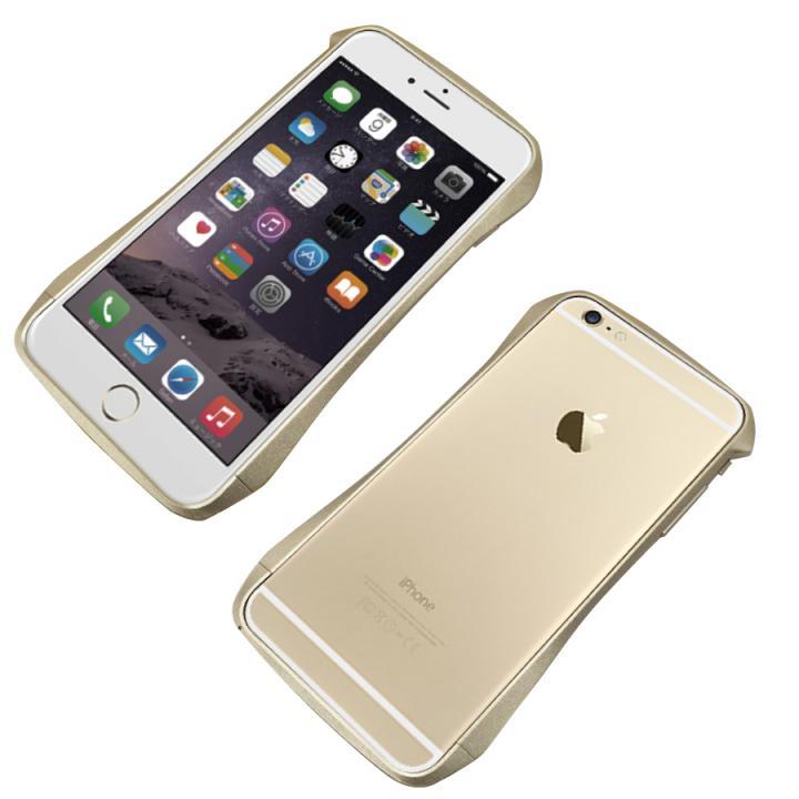 CLEAVE アルミニウムバンパー ゴールド iPhone 6 Plus