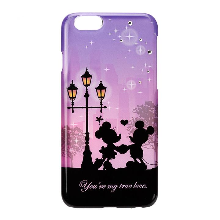 【iPhone6s/6ケース】ディズニー ハードケース シルエットコレクション ミッキー&ミニー iPhone 6s/6_0
