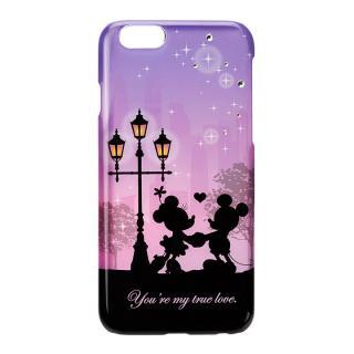 【iPhone6s/6ケース】ディズニー ハードケース シルエットコレクション ミッキー&ミニー iPhone 6s/6