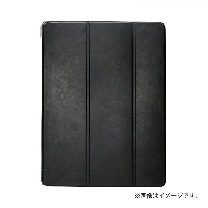 手帳型ケース 「Clear Note」 ブラック 12.9インチiPad Pro