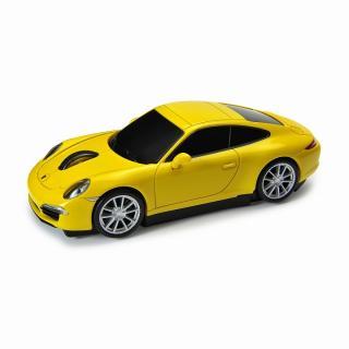 車型PC無線マウス ポルシェ イエロー