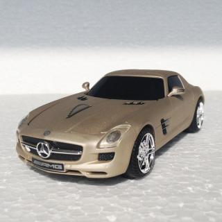 車型PC無線マウス Mercedes SLS AMG Beige Matt