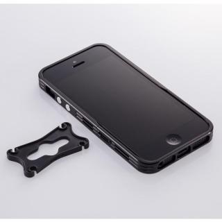 アルミニズム - iPhone SE/5s/5用 バンパースタイル(ブラック)
