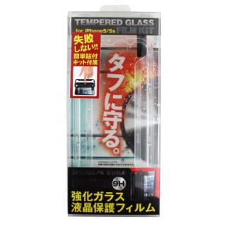 【iPhone SE/5s/5フィルム】フィルム張り付キット付 Fantastick  Tempered Glass iPhone SE/5s/5_4