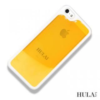 フラレア iPhone SE/5s/5ケース マンゴーオレンジ