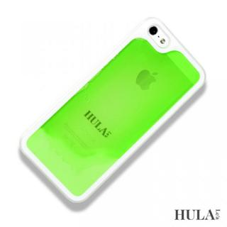 フラレア iPhone SE/5s/5ケース ウルグリーン