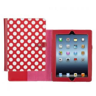 【iPad mini/2/3】Back Bay Polka Folio  Saffron-RED WHT HYS