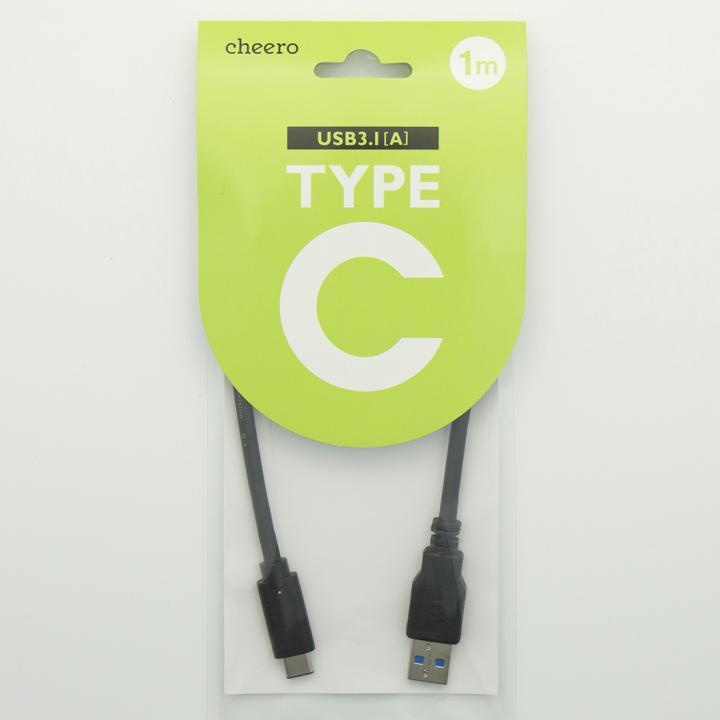 [1m]cheero TypeC USB 3.1ケーブル 100cm TypeC-A_0