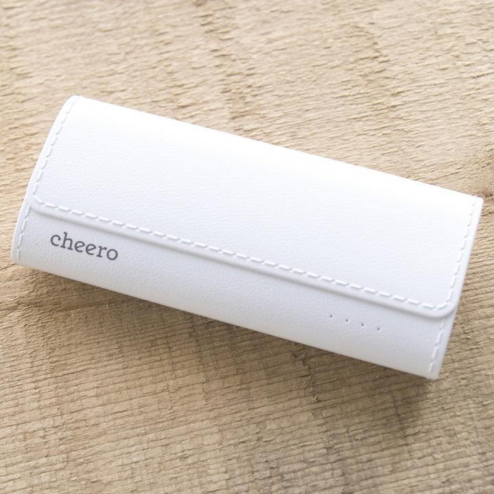 [5200mAh]cheero Grip 4 ホワイト_0