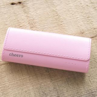[5200mAh]cheero Grip 4 ピンク