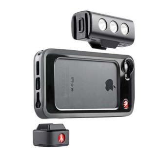KLYP+セット iPhone5/5sバンパー+LED/三脚アタッチメント