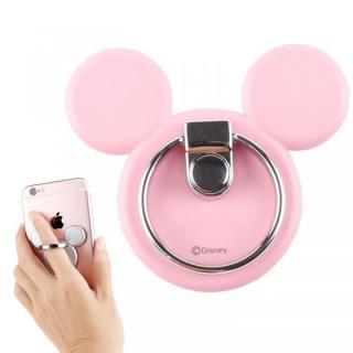 バンカーリング ミッキーアイコン ディズニー ピンク