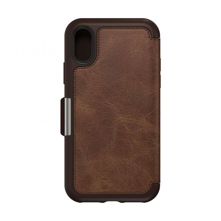 iPhone XS ケース OtterBox SYMMETRY LEATHER 背面ケース ESPRESSO iPhone XS_0