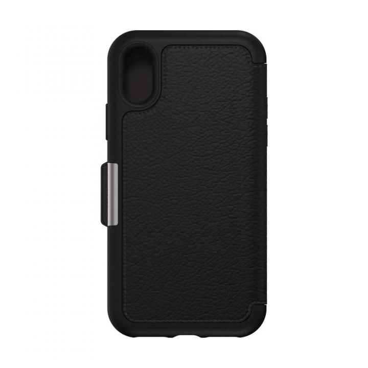 iPhone XS ケース OtterBox SYMMETRY LEATHER 背面ケース SHADOW iPhone XS_0