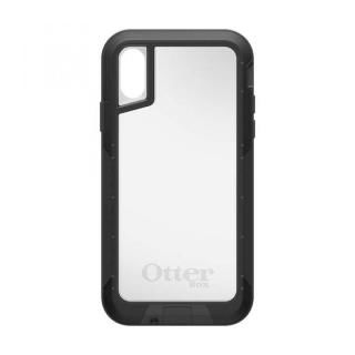 iPhone XS ケース OtterBox PURSUIT 背面ケース BLACK/CLEAR iPhone XS