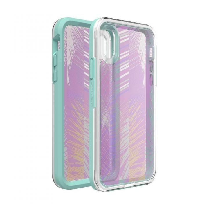 iPhone XS/X ケース LIFEPROOF SLAM Graphic 耐衝撃ケース PALM DAZE iPhone XS/X_0