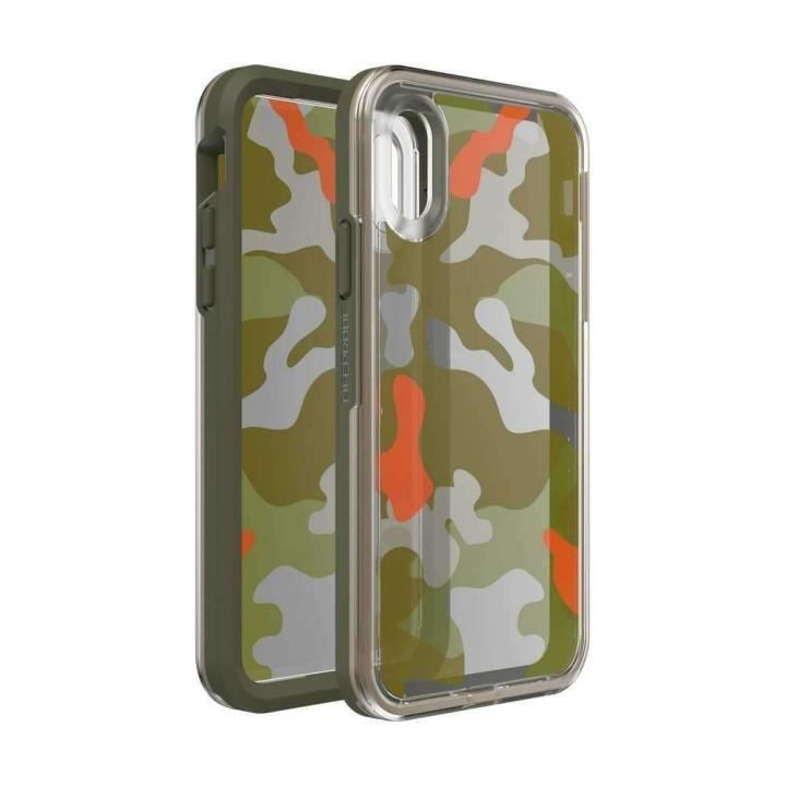 iPhone XS/X ケース LIFEPROOF SLAM Graphic 耐衝撃ケース WOODLAND CAMO iPhone XS/X_0