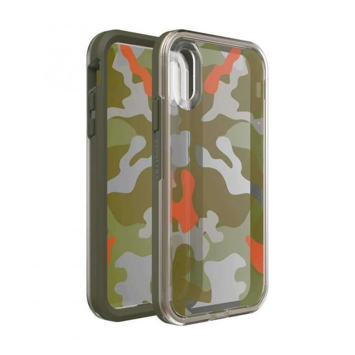 iPhone XR ケース LIFEPROOF SLAM Graphic 耐衝撃ケース WOODLAND CAMO iPhone XR_0