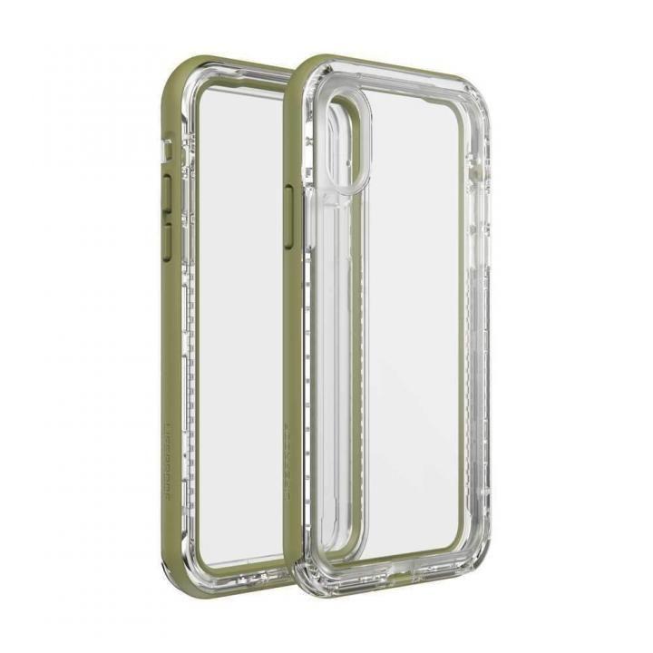 iPhone XS/X ケース LIFEPROOF NEXT 防塵・防雪・耐衝撃ケース ZIP LINE iPhone XS/X_0