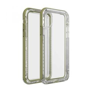 iPhone XS/X ケース LIFEPROOF NEXT 防塵・防雪・耐衝撃ケース ZIP LINE iPhone XS/X